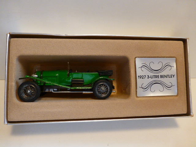 *1/43 Corgi C861 1927 Bentley 3 Litre green