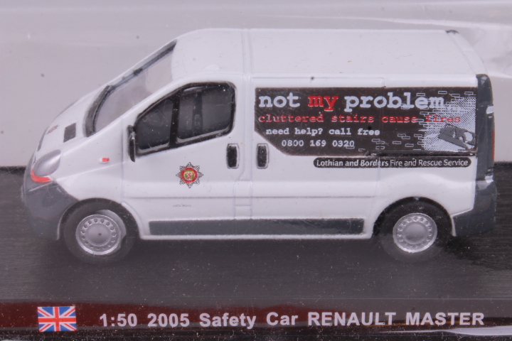 *1/50 Magazine Models 2005 Renault Master Safety Car