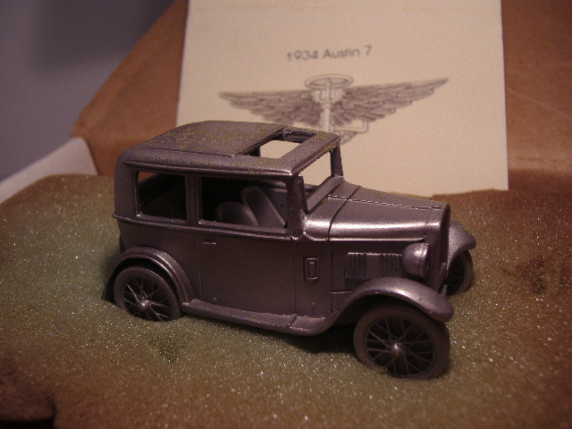 *Danbury Mint 1934 Austin 7 (pewter)