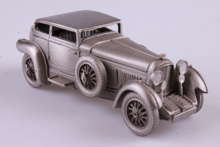 *Danbury Mint 1930 Bentley Barnato. Tin. No Box