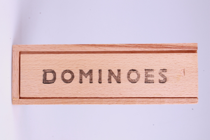 "*Vintage Domino. Wooden Box. Perfect for your ""Nostalgic Room/Store"""