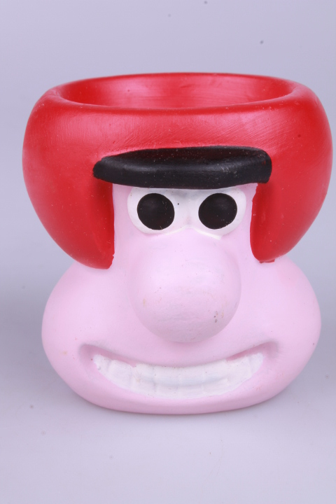 *Wallace & Gromit Egg Cup Wallace in Motorcycle Helmet