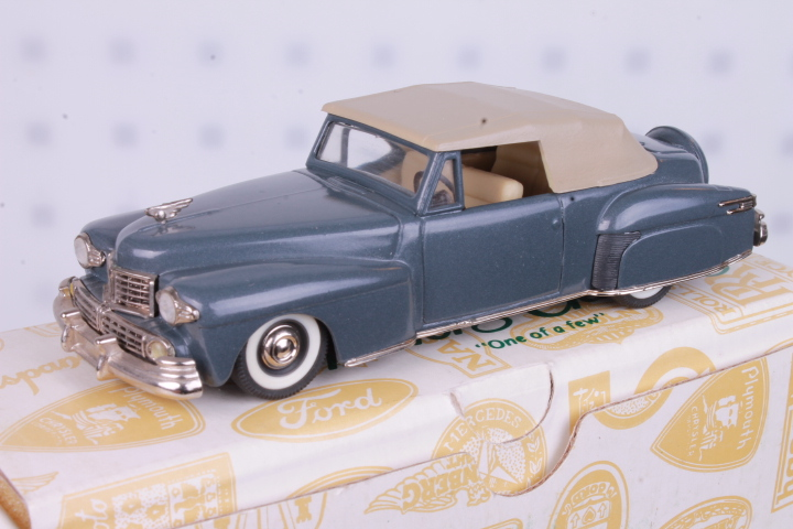 *1/43 Collectors Classics 5013 1946-48 Lincoln Continental Top Up
