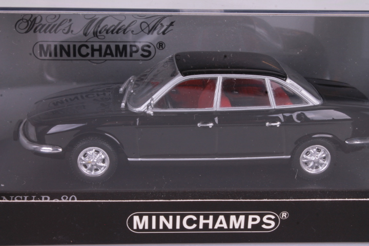 *1/43 Minichamps 430015406 1972 NSU Ro80 black
